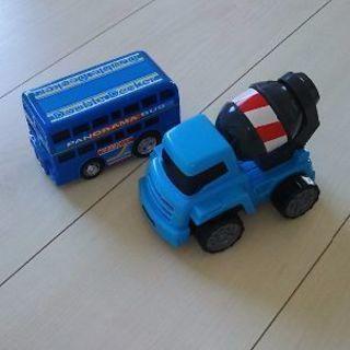 バス コンクリートミキサー車