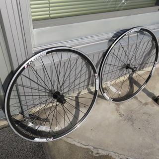 クロスバイク用、新品 未使用 700C アルミホイール 前後セットです