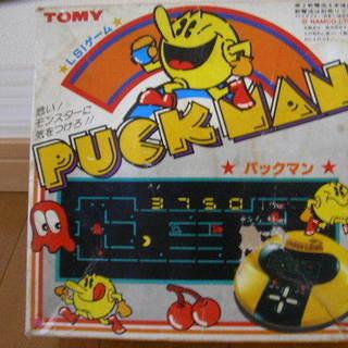 【 レトロ 】 パックマン TOMY トミー LSIゲーム