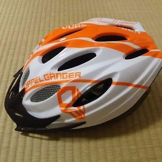 ほぼ未使用 自転車ヘルメット ドッ...