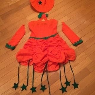 ハロウィン☆パンプキンワンピース