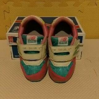 ニューバランス15cmスニーカー靴美品