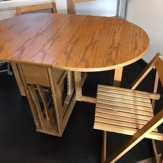 商談中◆ダイニングテーブルと椅子のセット