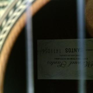 Manuel Santos スペイン製マヌエルサントス クラシックギター