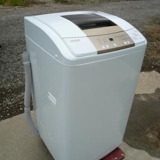 2017年製 ハイアール 7.0kg 全自動洗濯機 ホワイトHai...