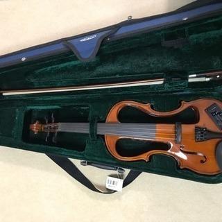 電子バイオリン ほぼ新品