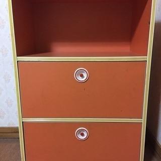 カラーボックス 3段 昭和の家具