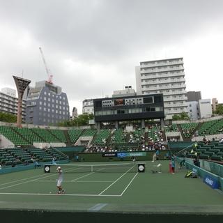 テニス練習会(10/7 11-13,15-17)@靭テニスセンター