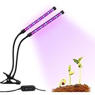 新品未開封植物ライト 植物LED ライト 植物育成用 ダブルチュー...