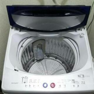 SHARP、7キロ、全自動洗濯機