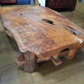 一枚板 テーブル