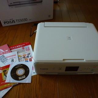 Canon PIXUS TS5030◆動作確認済◆保証書有【中古】