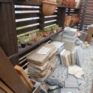 石材、木材、レンガなどの端材セール中です!
