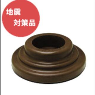 耐震・防音商品スーパーセーフティーインシュ(茶)縦型ピアノの脚に...