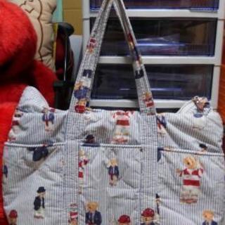 テディーベアのマザーズバッグ トートバッグ