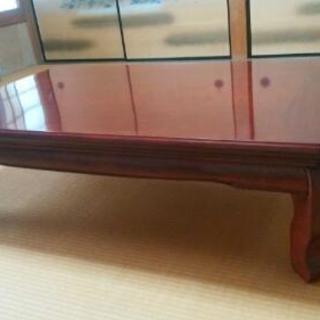 座卓テーブル折りたたみ式 和室 ローテーブル