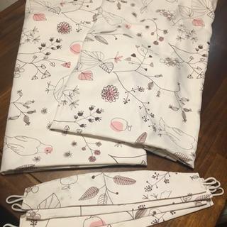 ニトリ 子供用カーテン 100✖️140 2枚組