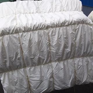 [ニトリ羽毛布団150×210]⁑リサイクルショップヘルプ