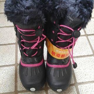 20㌢防滑機能搭載!冬用ブーツ 新品の画像