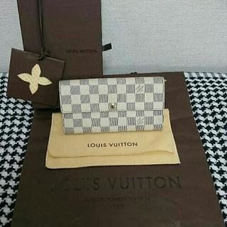 美品❤付属品一式つき❤LOUIS VUITTON アズール 長財布