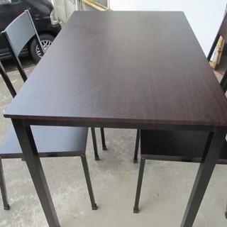 6000円 美品ダイニング5点セット テーブル/椅子4点  ダイニ...