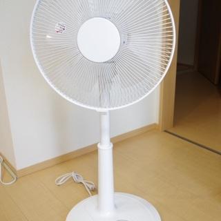 扇風機ホワイト