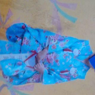 七五三 安心フルセット 3歳女の子用  小物も全て。 着付け簡単...