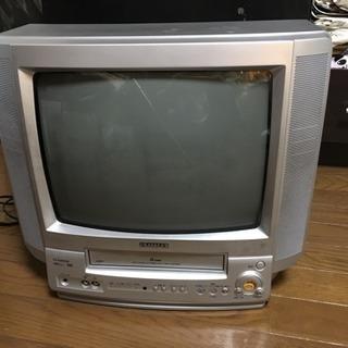 ジャンク品 aiwa テレビ ビデオ一体型