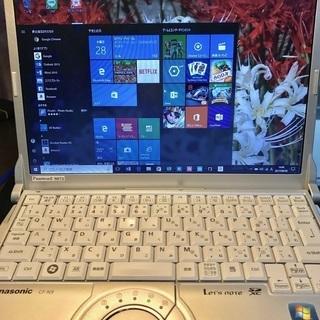 中古パナソニックパソコンあげます。