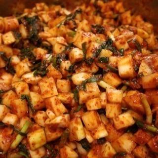 韓国料理教室「カクテキ」&「チャプチェ」