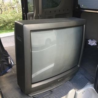 シャープ 25インチ ブラウン管テレビ 通電確認済み