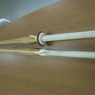 剣道 竹刀 2本まとめて 要修理