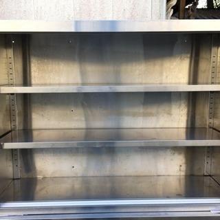 ステンレス棚 1200×900×350 扉無 厨房機器用途多用