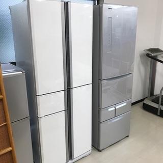 10年製フレンチドア三菱 5ドア冷蔵庫405L リサイクルショッ...
