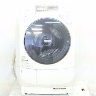 HITACHI2011年式ドラム式洗濯機です 9キロ左開きです ...
