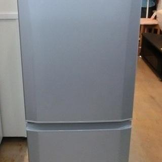 MITSUBISHI 2ドア 冷凍冷蔵庫 MR-P15Y 2015...