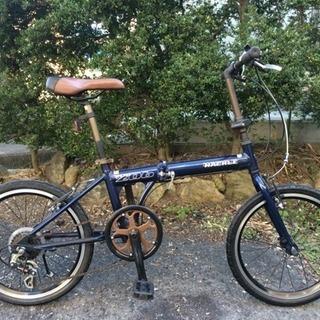 折りたたみ自転車20インチ(アルミフレーム、外装6段変速)