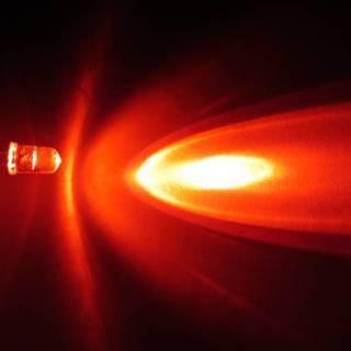 LEDの自作に 赤 レッド 8000mcd 5mm 100個
