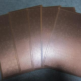 LED製作に!ユニサーバル基盤 180×300mm 5枚セット 基板