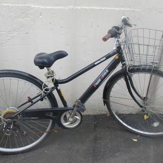 自転車 27インチ オートライト 6段切り替え 手渡し