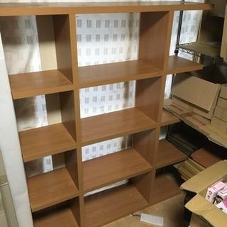 木製デザイン棚