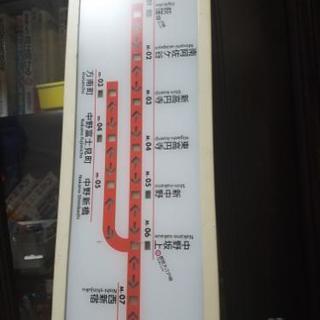 丸ノ内線02系 路線図