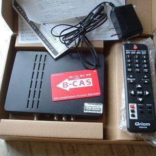キュリオム 地デジチューナー BCASカード・電源アダプタ・リモコンあり