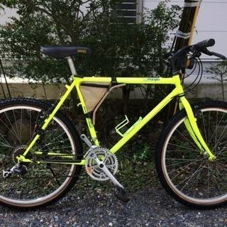 クロスバイク26インチ(難あり)(富士自転車、3×7段変速)