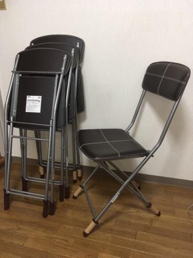 ニトリ 折りたたみ 椅子