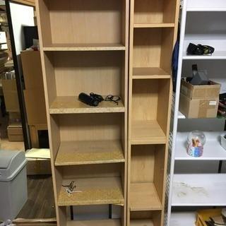 木製棚2個