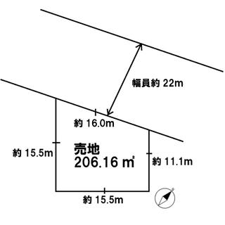 西野6条2丁目バス通り面土地!!