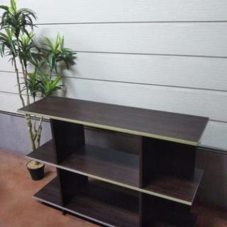 シックな木製のテレビボード☆