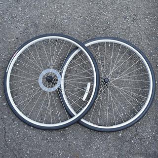 700cホイールセット タイヤ付き 一部のクロスバイクに
