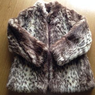 毛皮のコート(半額にしました!)